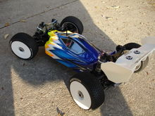 th scale rc car SERPENT W KUSTOM GRAPHIX RC PAINTED BODY 034
