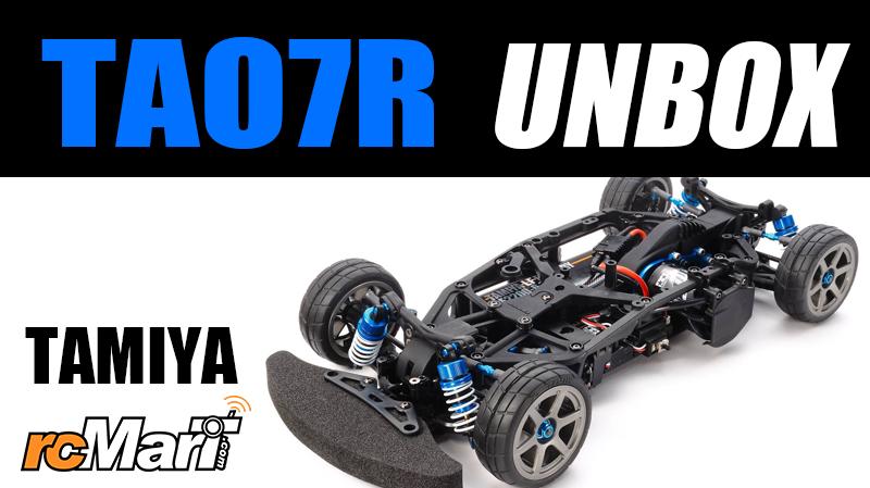 Tamiya TA07R Chassis Kit Unbox #84433 - R/C Tech Forums
