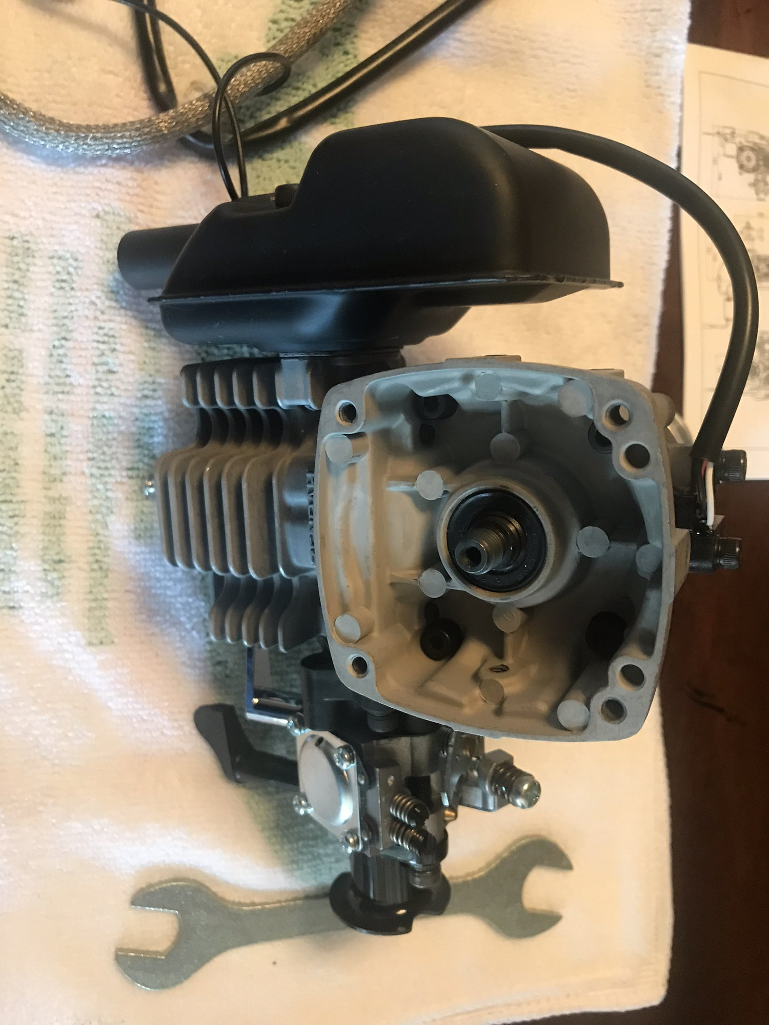NEW Zenoah G200PU 20cc Electronic Ignition Gas Engine - RCU Forums