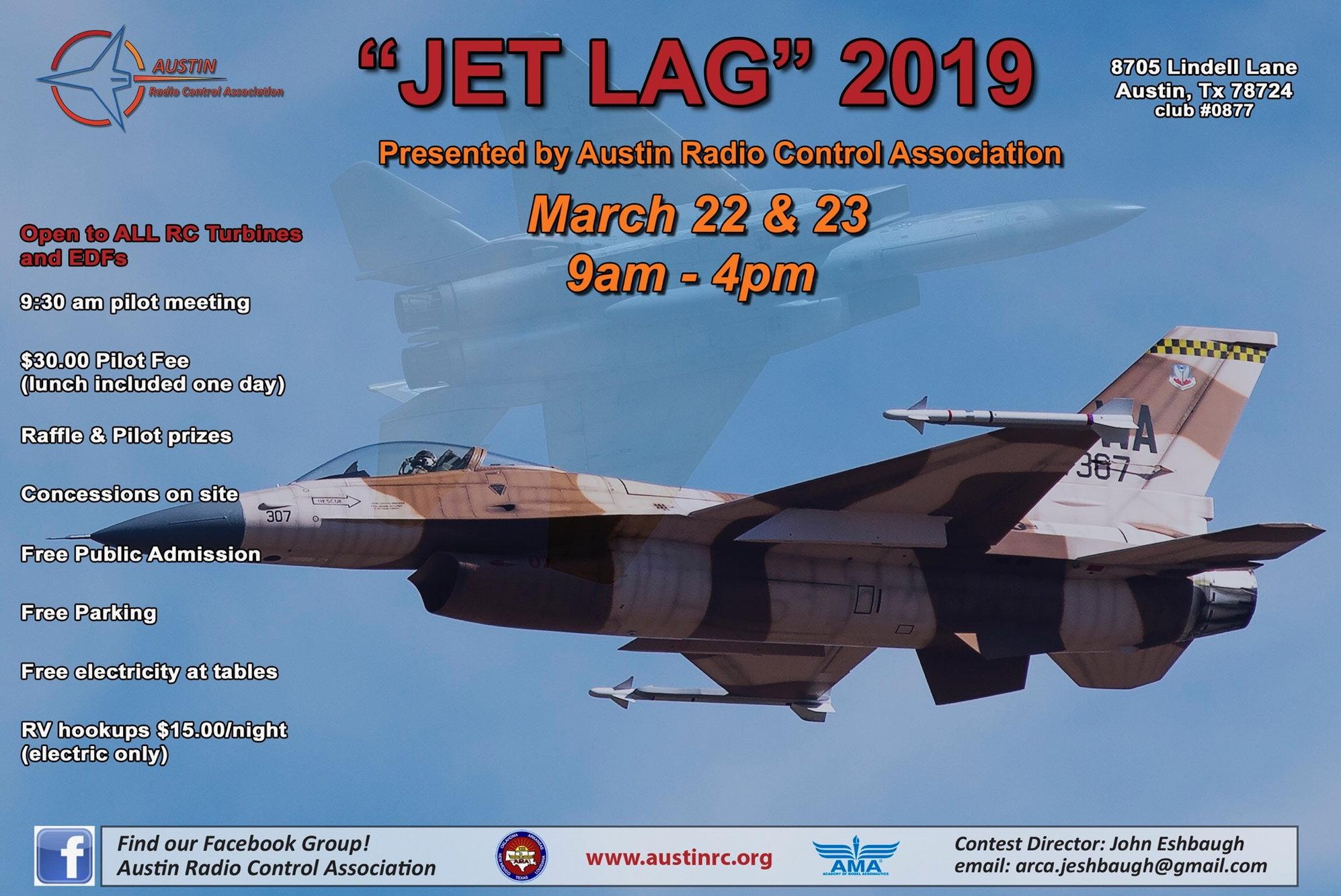 Austin Texas JET LAG jet rally March 22-23 - RCU Forums