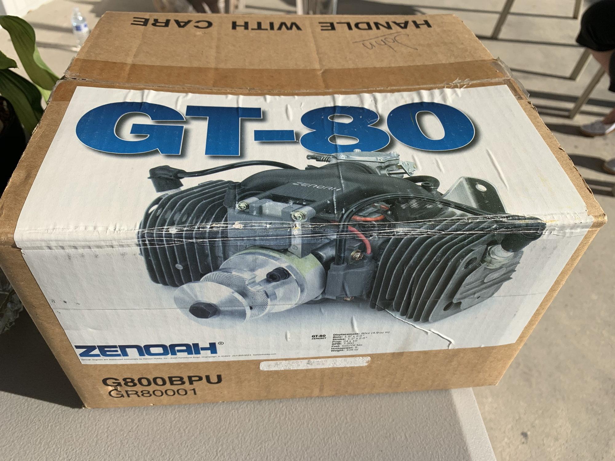 Zenoah GT 80 Twin new in box - RCU Forums