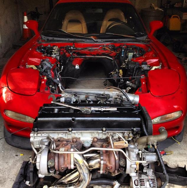 Rx7 Engine Used: Mazda RX7 Forum