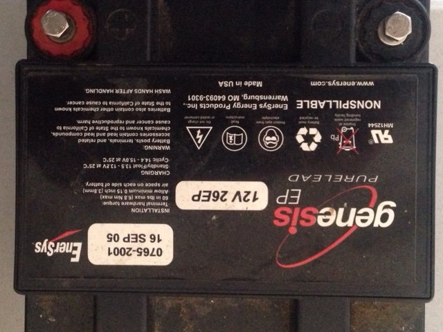 rx7 battery fd smaller options rx7club received