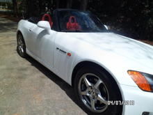 2000 s2000 White w red interior Atlanta, GA