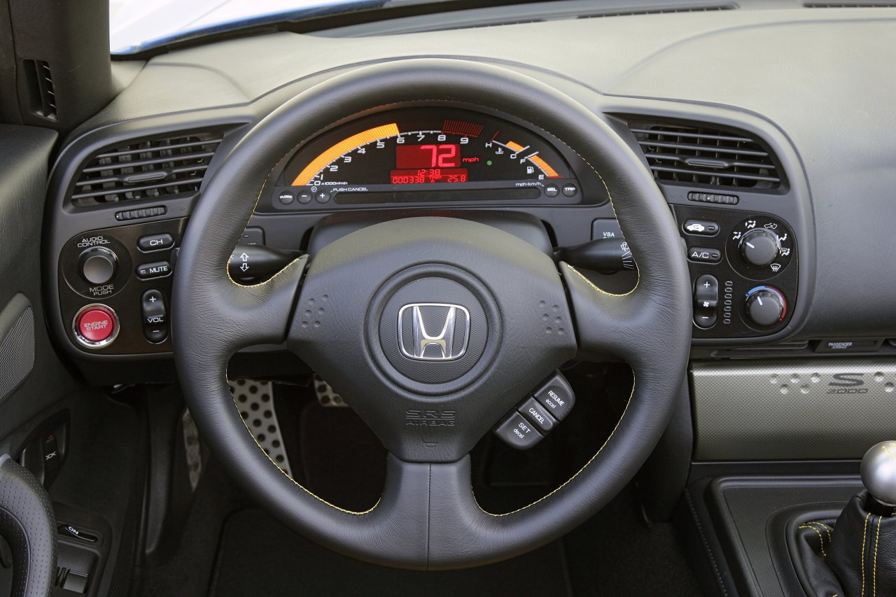 Other than the instrument panel and seat design the interior is the same