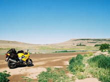 My VTR at 50k miles, west of Gunnison CO