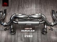 Fi Exhaust for Lamborghini Huracan LP610-4 - Valvetronic Muffler.
