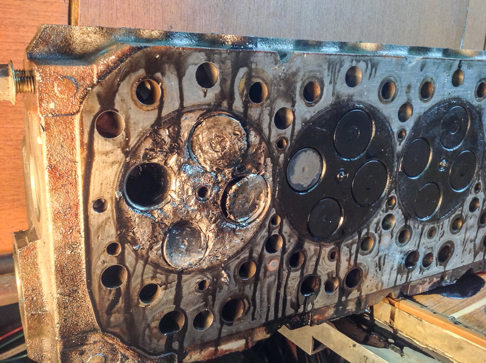 Dropped valve, trashed piston  Need advice  - The Hull Truth