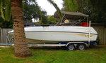 Crownline deckboat