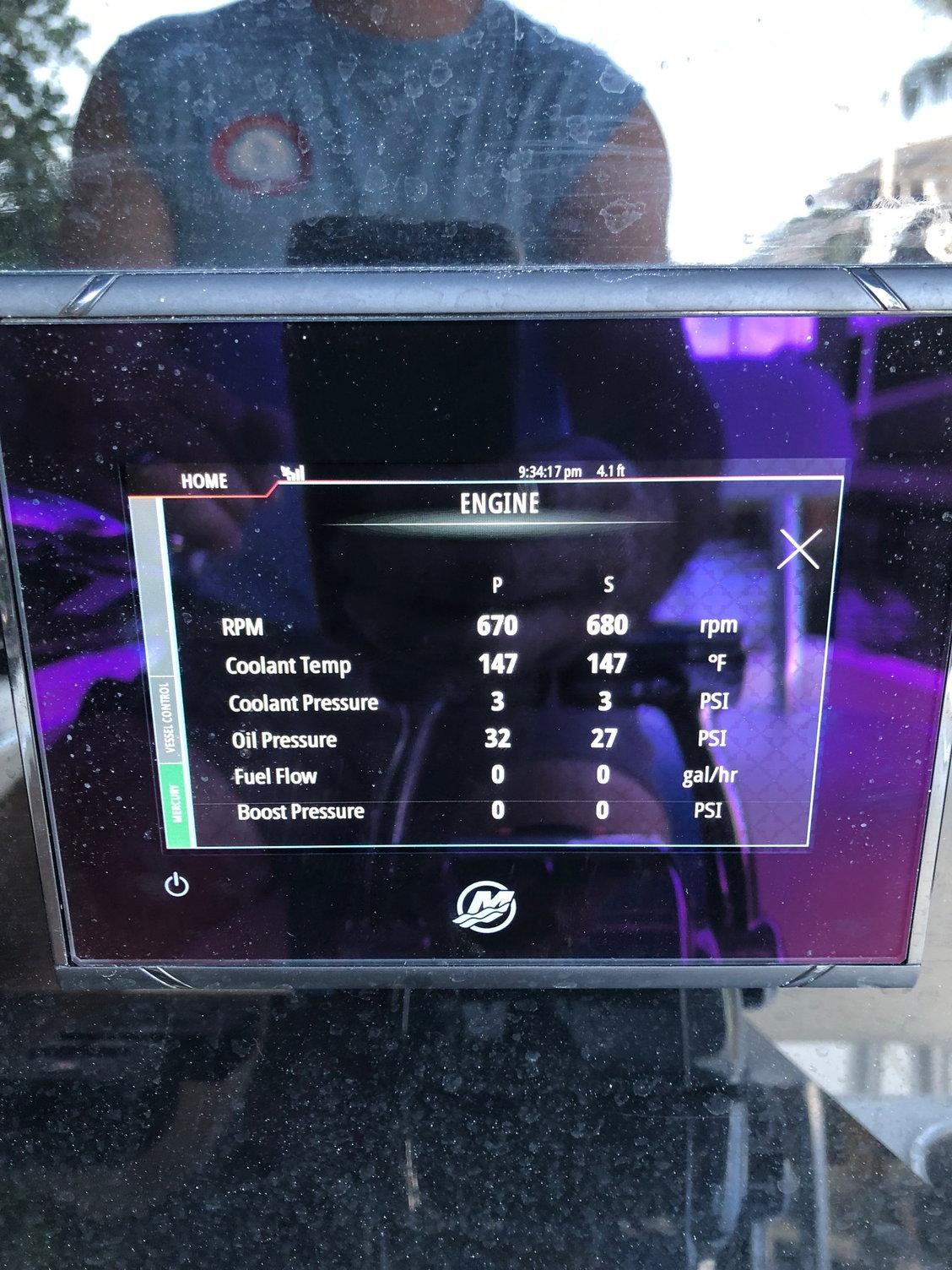 Verado oil pressure/engine numbers - The Hull Truth