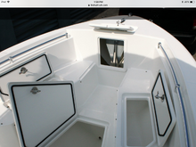 An example of anchor hatch opening in.