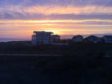 Sunset on Long Bay Oak Island, NC