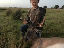First buck second deer.