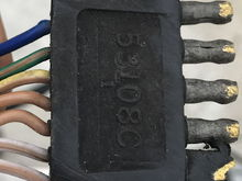Here is the original road dragged device with seven wires and five pins