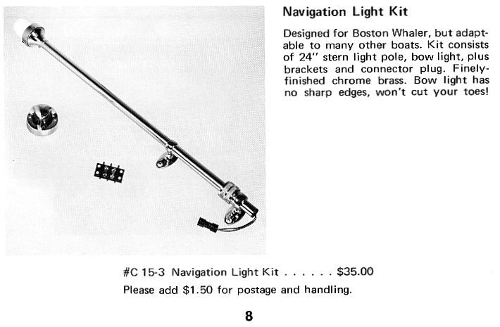 Navigation Light Kit Diagram