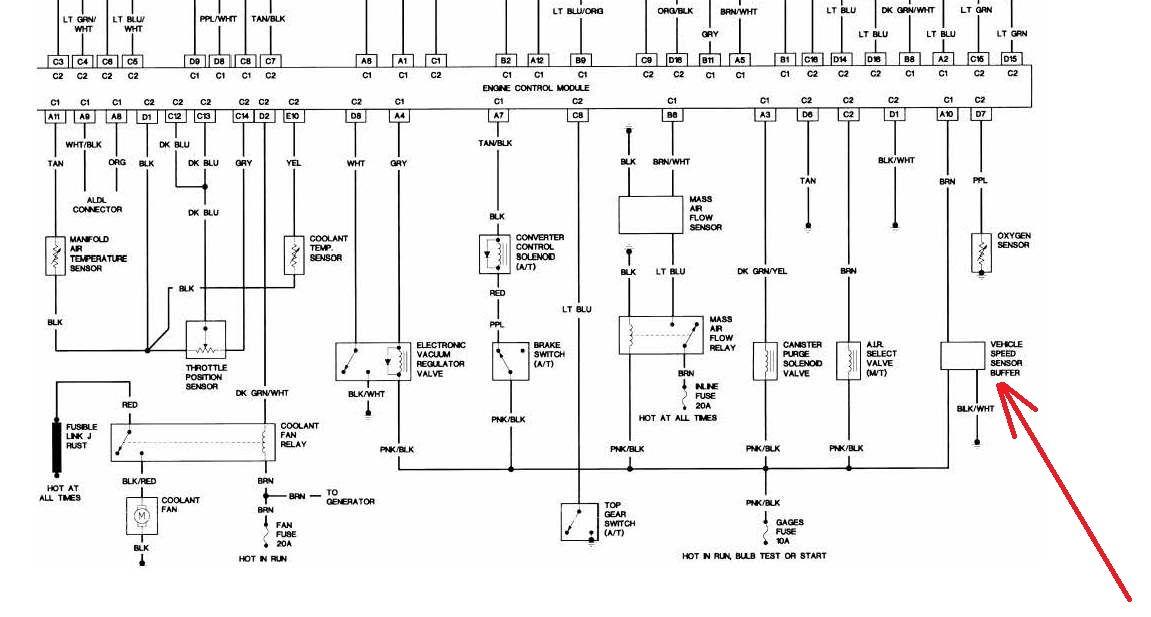 T5 Manual Transmission  - Vehicle Speed Sensor