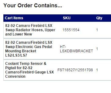 82-92 Camaro//Firebird LSX LS1 Coolant Temperature Sensor with Pigtail *12551708