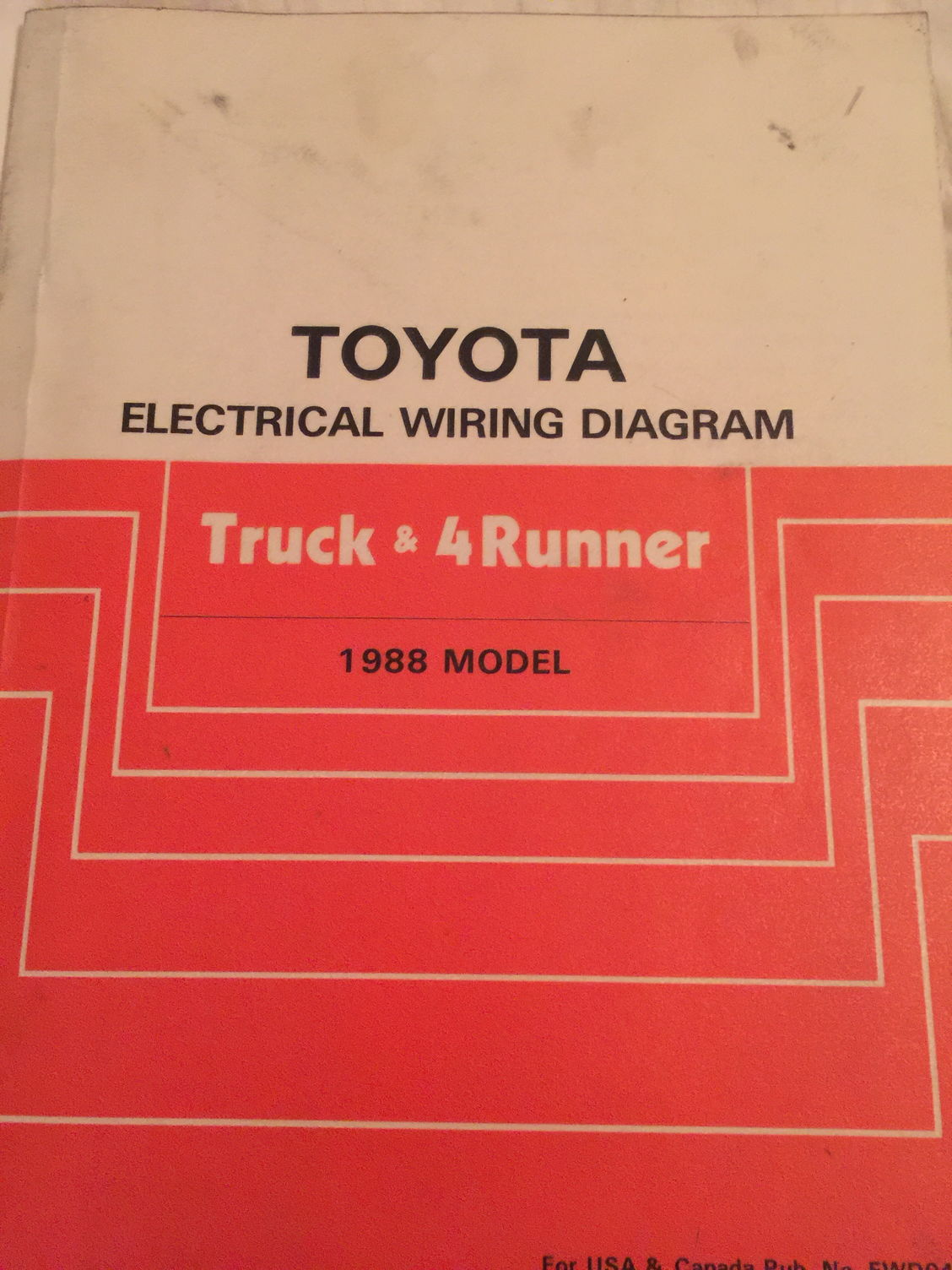 88 4runner Wiring Diagram Schematic Diagrams 2004 Toyota 1988 Truck Electrical Manual Trusted