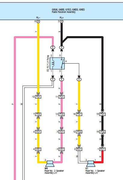 5th gen rear speakers parallel wiring mod the easy way