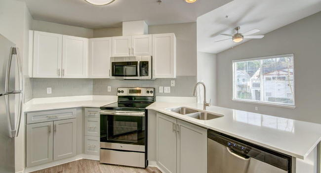 Clock Tower Village Apartment Homes Kitchen Counter and Sink