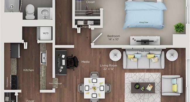Image Of Renaissance City Club Apartments In Detroit Mi
