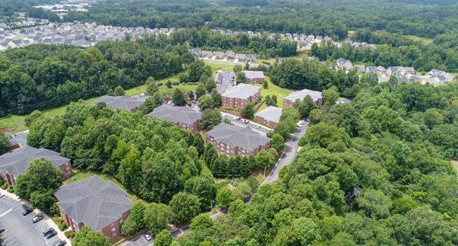 Aerial View of Amelia Village in Clayton, NC