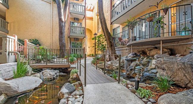 Image Of Mediterranean Village West Hollywood In Ca