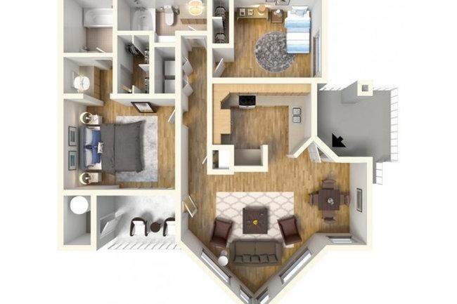 Floor Plan Photo Of Finisterra In Tempe Az